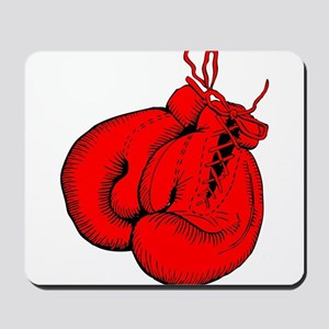Red Boxing Gloves Mousepad